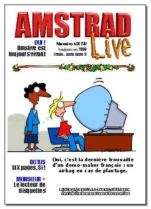 cover of Amstrad Live issue 14