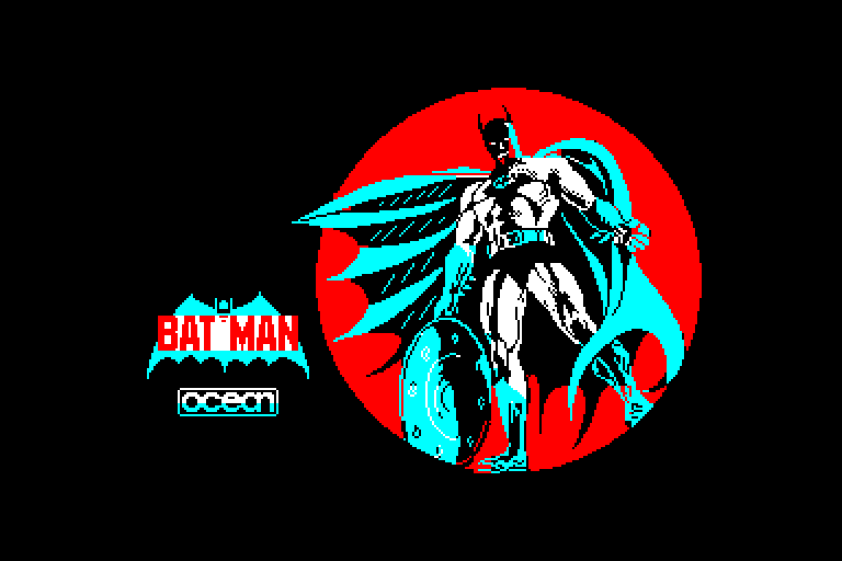 screenshot of Batman provided by GameBase CPC